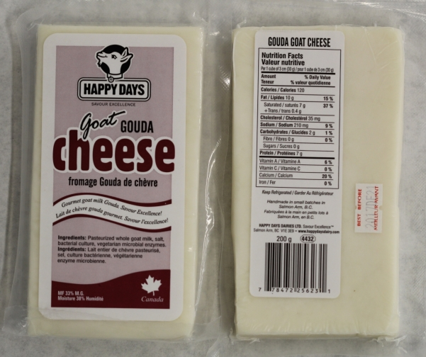 goat cheese calories